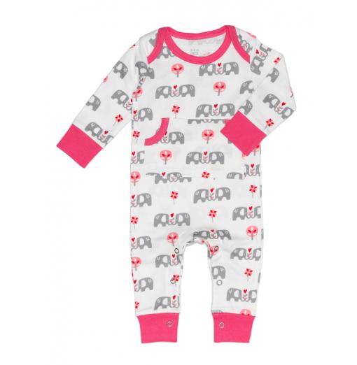 "Pijama ""Elefant"" rosa - Fresk"