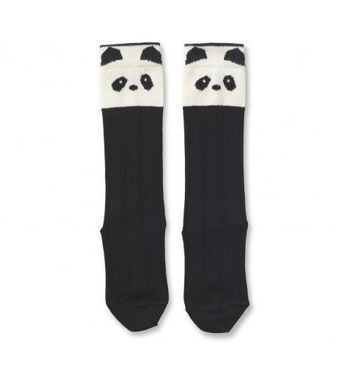 Calcetín alto Panda Creme de la Creme - Liewood