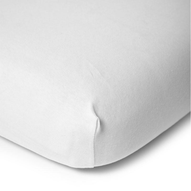 Sábana bajera blanca cuna 70x140 cm - Childhome