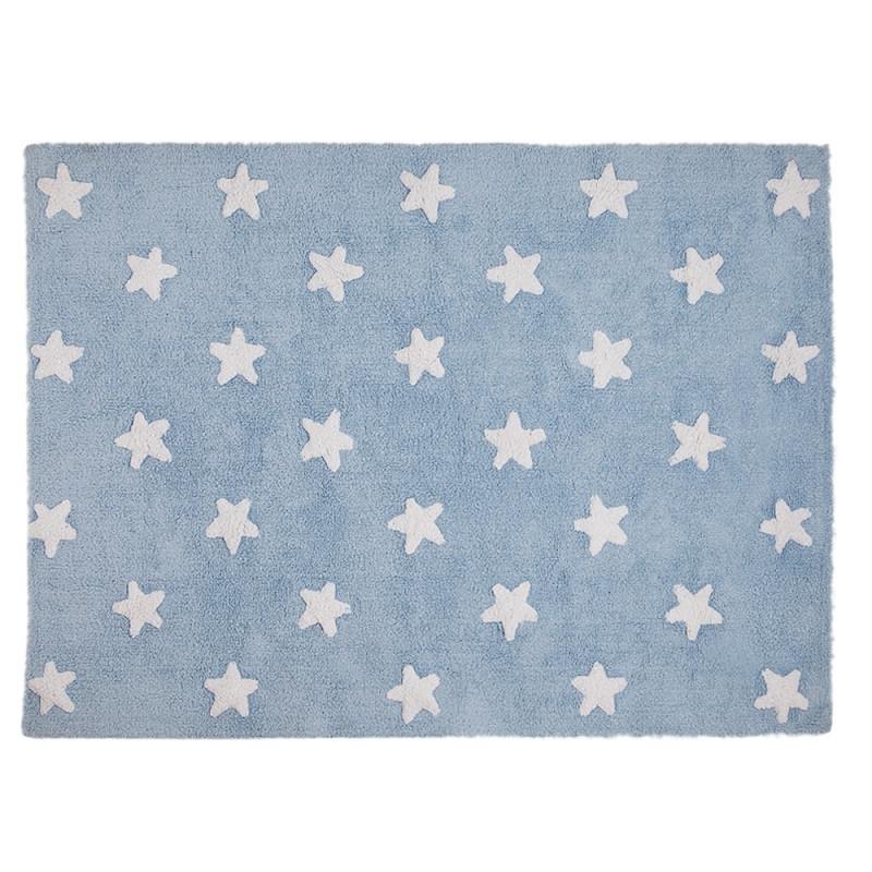 Alfombra estrellas azul - Lorena Canals
