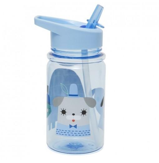 "Botella ""Peanut & co"" - azul de Petit Monkey"