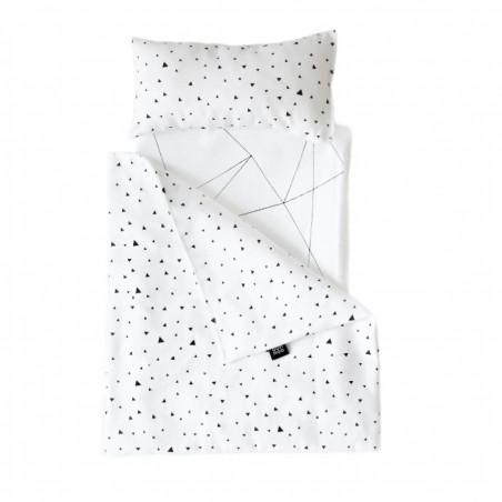 Toy pram Bedding Tiny Triangles- Ooh noo