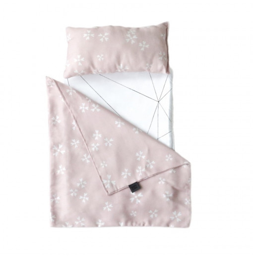 Toy pram Bedding Blushing Blossoms - Ooh noo