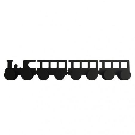 Colgador tren negro - Tresxics