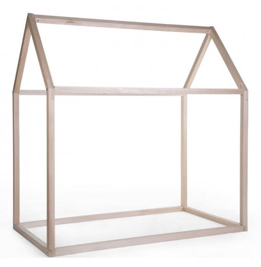 Estructura de cama casa 90 x 200 - Childhome