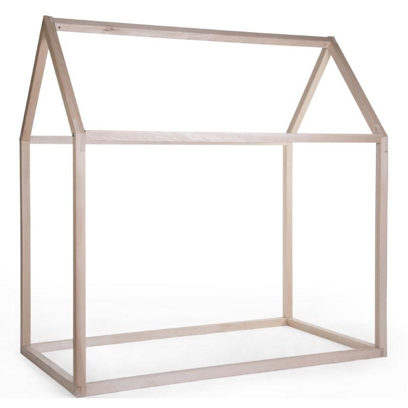 estructura de cama casa 90x200 childhome