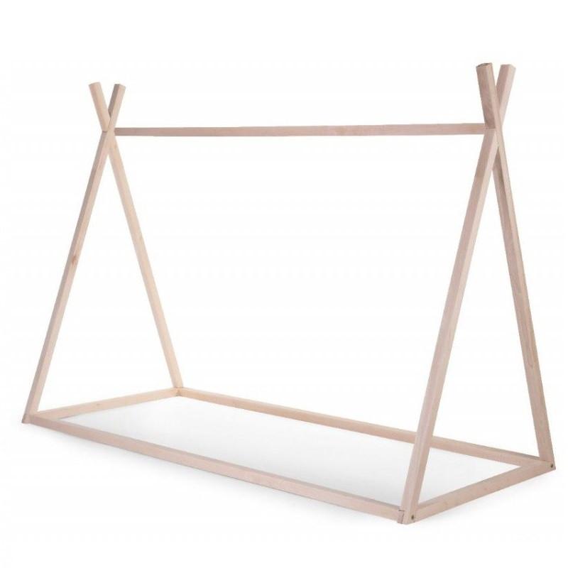 Estructura de cama Tipi de madera - 90 x 200 cm