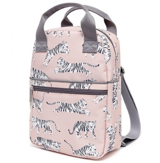 Mochila Tiger blanco - Petit Monkey