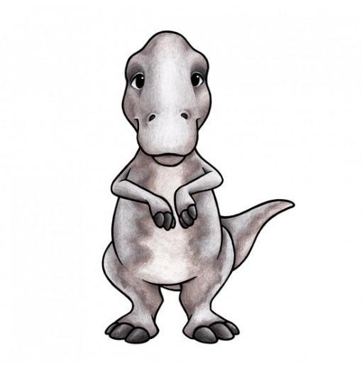 Vinilo Teddy el Tyrannosaurus Rex- Stickstay