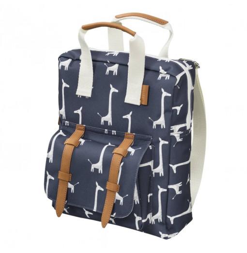 Mini mochila jirafa azul - Fresk