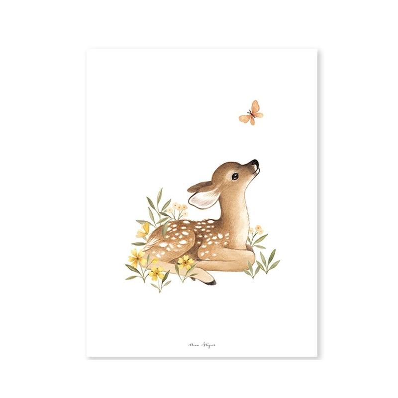 Lámina ciervo - Lilipinso