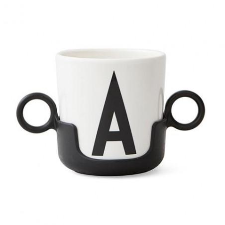Asas negras para vaso melamina  - Design Letters