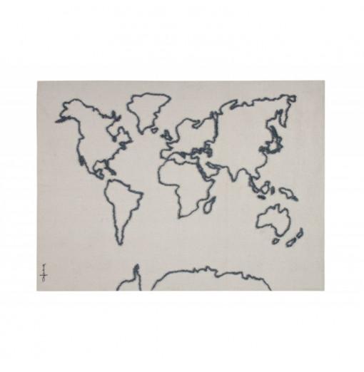 Colgante Pared Canvas Map - Lorena Canals