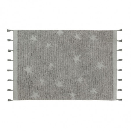 Alfombra Hippy Stars gris - Lorena Canals