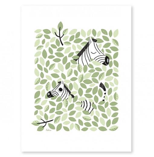Lámina Zebras - Lilipinso