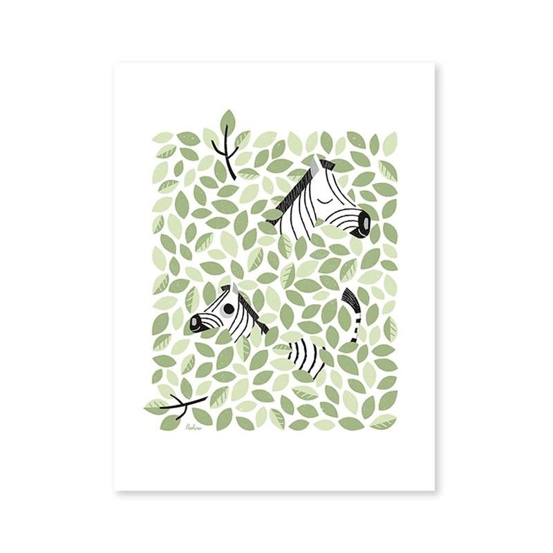 Lámina Cebras - Lilipinso