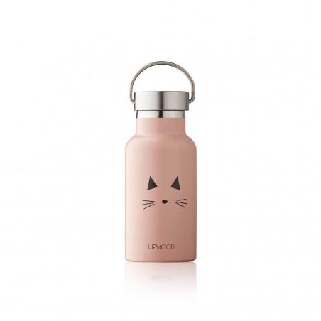 Botella de agua Cat rosa - Liewood
