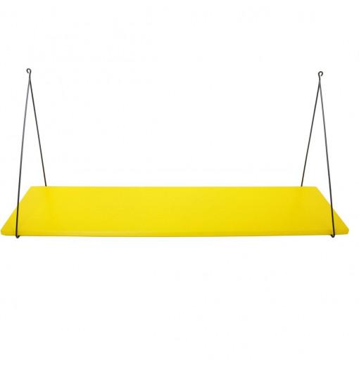 Estantería Babou 1 balda amarilla 85 cm - Rose in April