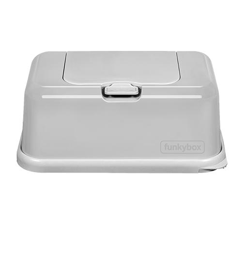 Caja para toallitas gris - Funkybox