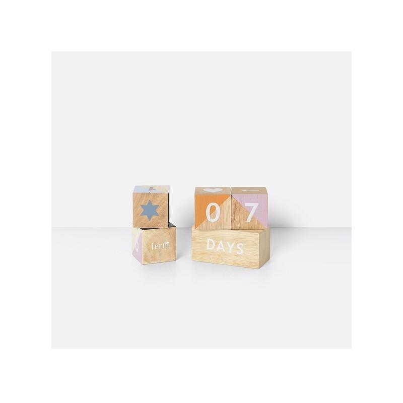 Wooden Age blocks - Ferm Living
