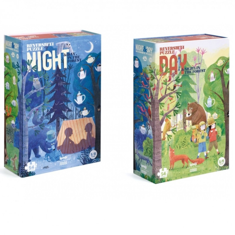 Night & Day in the forest puzzle - Londji