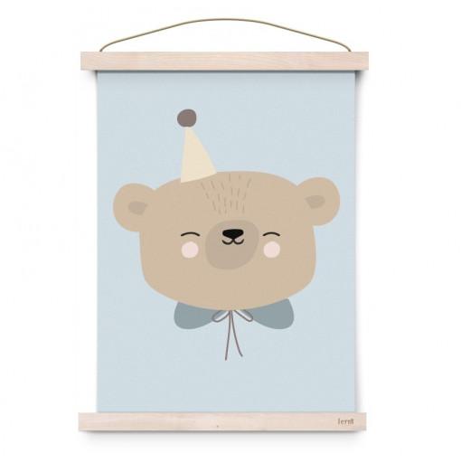 """Lámina """"Circus Bear"""" - Eef Lillemor"""