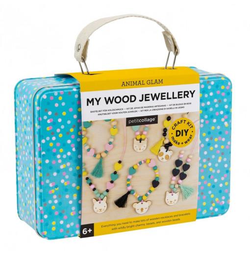 Kit DIY de joyas de madera - Petit Collage