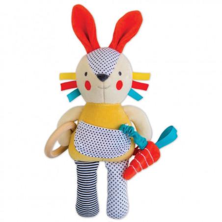 Muñeco de actividades conejo - Petit Collage