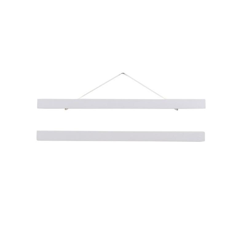Portaláminas de madera A3 - blanco