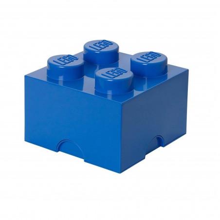 Caja de almacenaje LEGO 4 azul