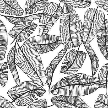 Papel Pintado hojas tropicales - Lilipinso