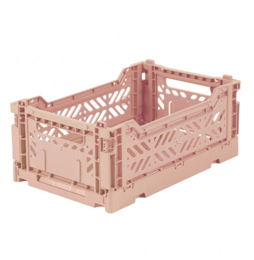 Caja plegable pequeña  - rosa empolvado