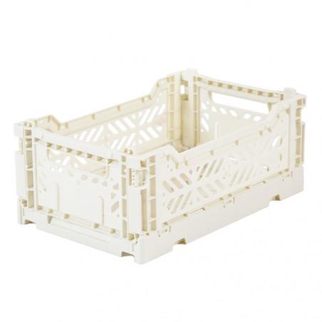 Caja plegable pequeña - blanca