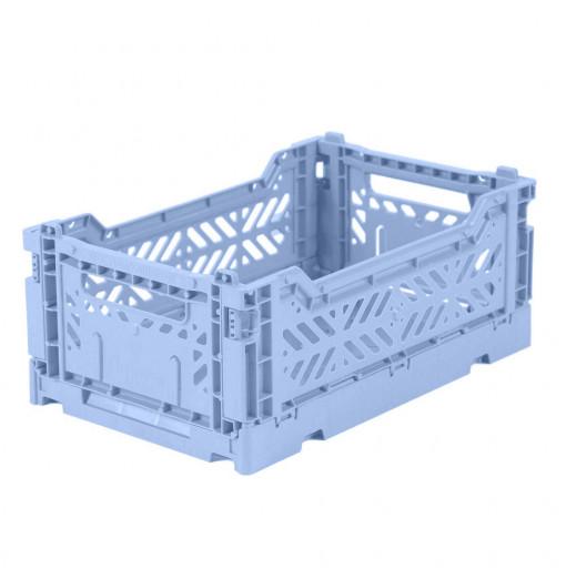 Caja plegable pequeña - azul