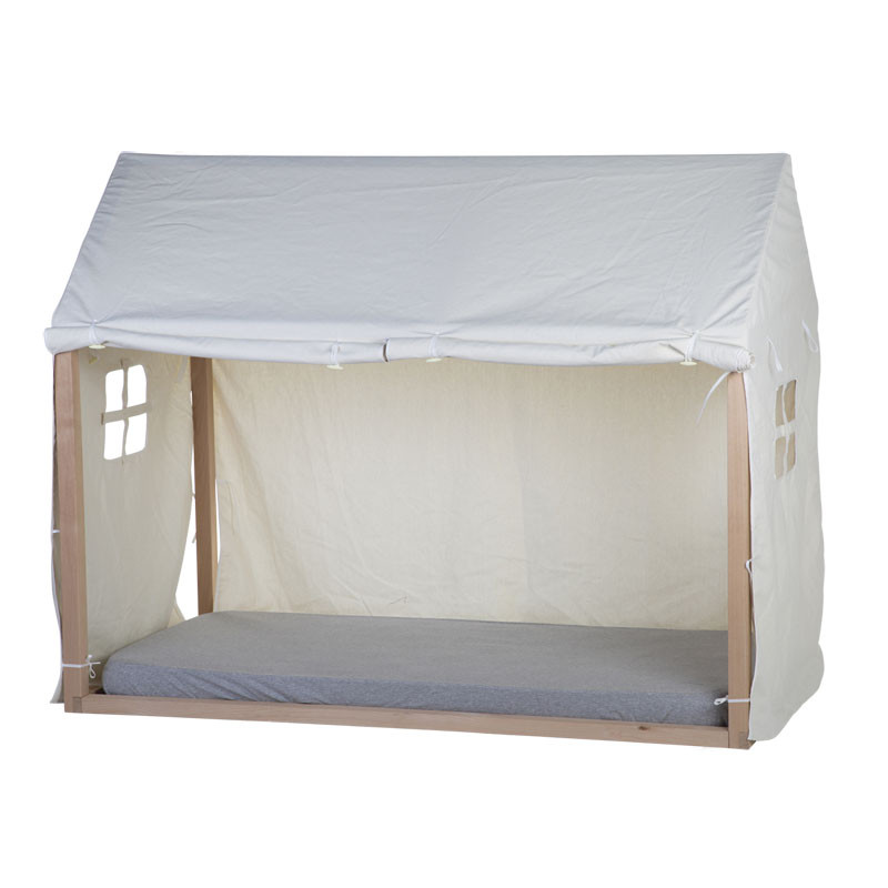 Funda tipi color blanco casa 70 x 140 - Childhome