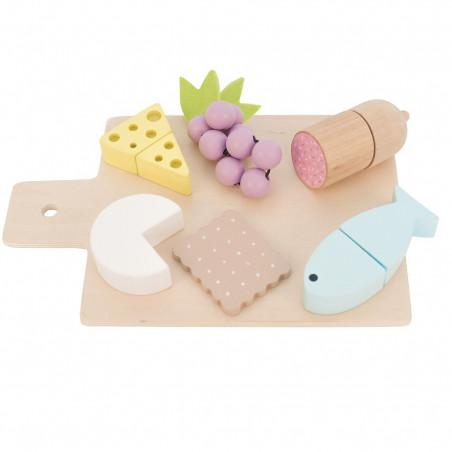 Set de tapas y aperitivos de juguete - Jabadabado