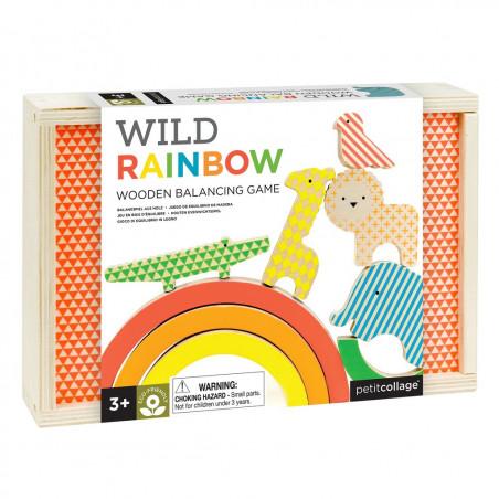 Juego de equilibrio Rainbow - Petit Collage