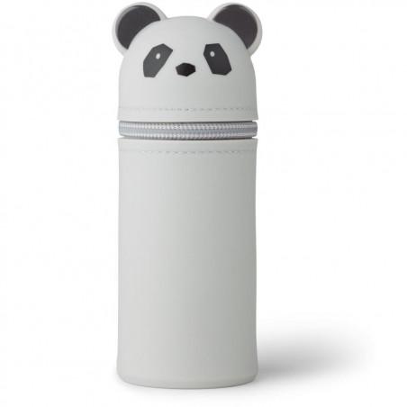 Estuche Vitus Panda gris - Liewood