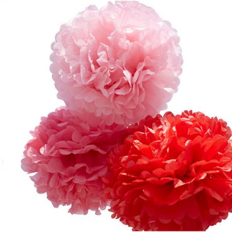 Kit de Pompones rojos de Engel