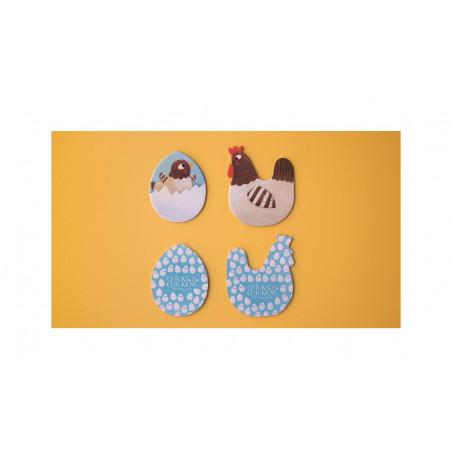 Chicks and Chickens Memo - Londji
