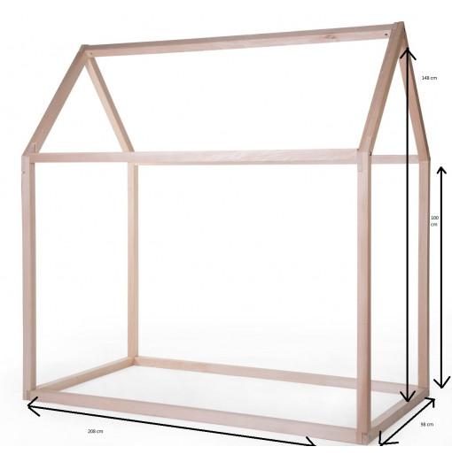 Cama en forma de casa 90 x 200 - Childhome