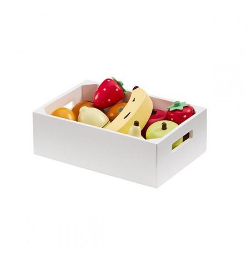 Caja con surtido de frutas variadas - Kids Concept