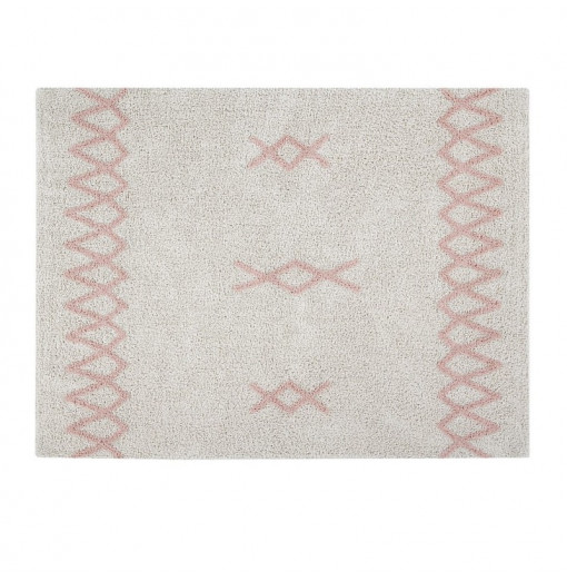 Alfombra Lavable Stars Natural-Vintage Nude - Lorena Canals