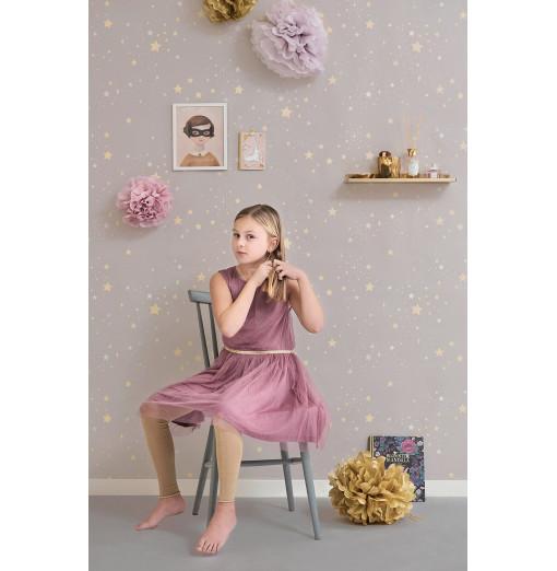 Papel pintado Twinkle lila empovaldo - Majvillan