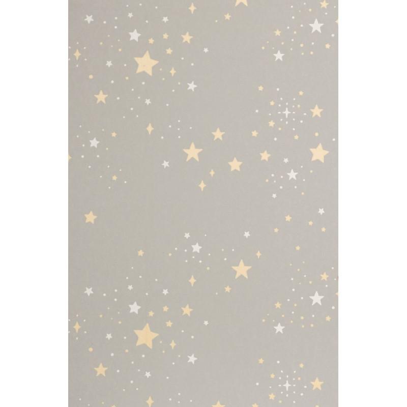 Papel pintado Twinkle gris - Majvillan