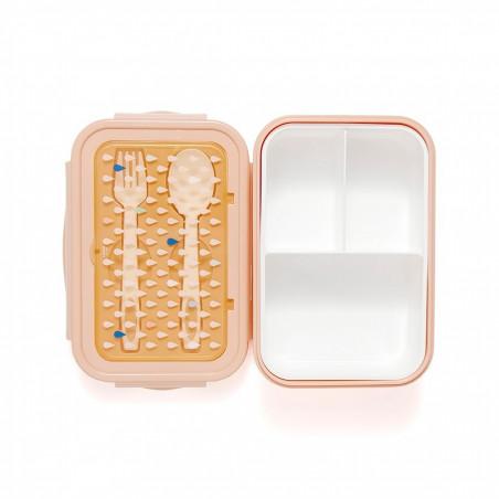 Fiambrera Bento drops Peach - Petit Monkey