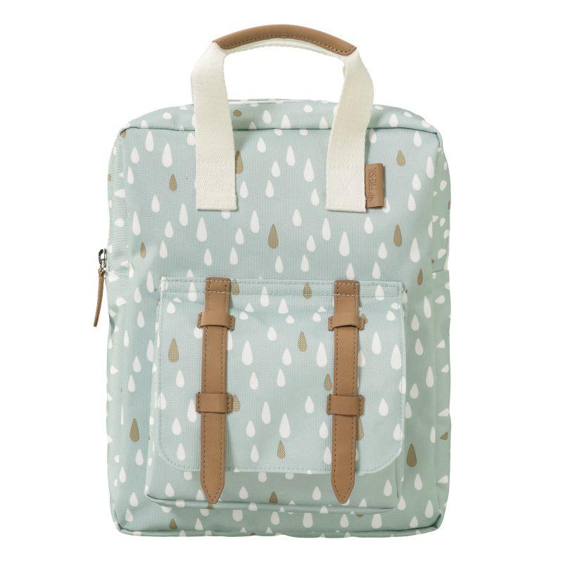 Mini mochila gotas azul - Fresk