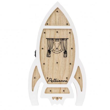 Lámpara cohete de madera - Pellianni