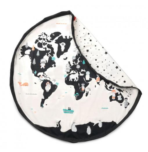 Saco da almacenaje mapa del mundo - Play&Go