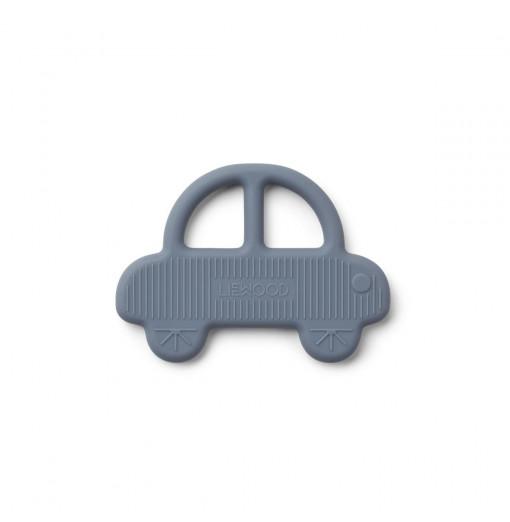 Mordedor coche azul de silicona - LIEWOOD